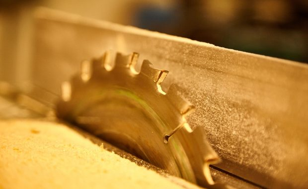 sharpen your saw with a morning routine - image of saw