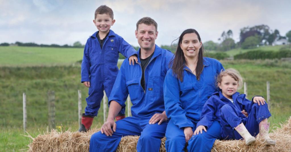 Kane Brisco and family