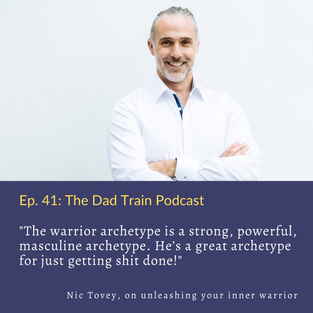 Nic Tovey on unleashing your inner warrior archetype