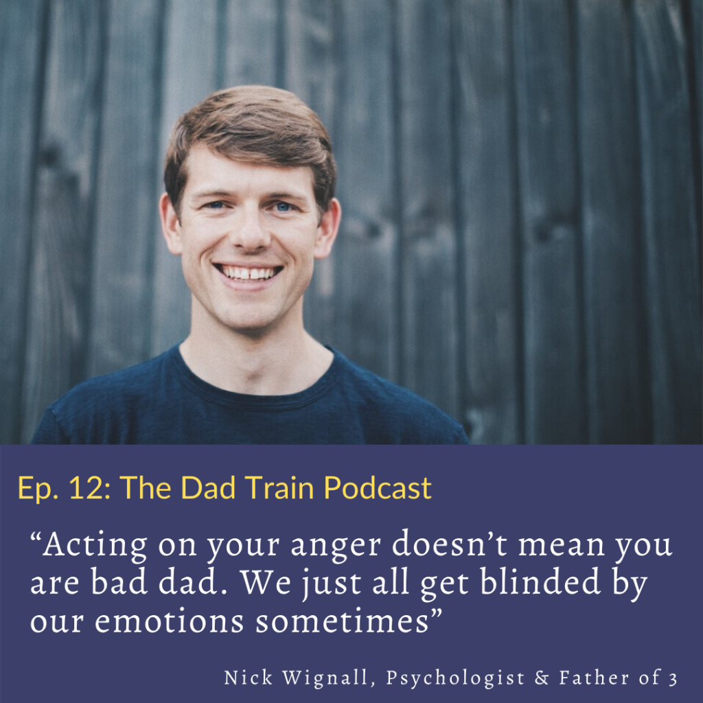 Anger management is a myth by Nick Wignall - quote from podcast interview