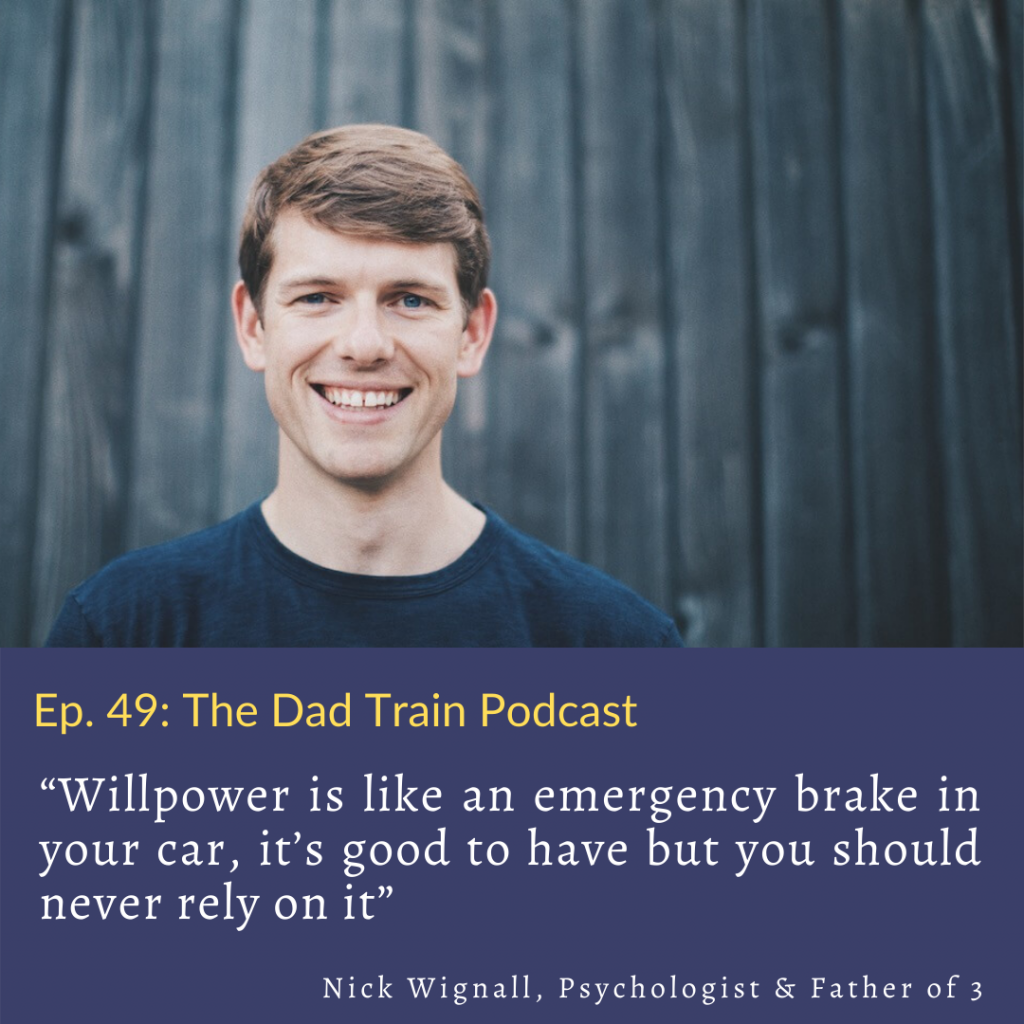 Nick Wignall Quote from The Dad Train