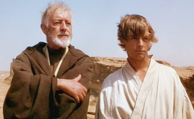 Obi-Wan Kenobi (Mentor) and Luke Skywalker (Mentee)