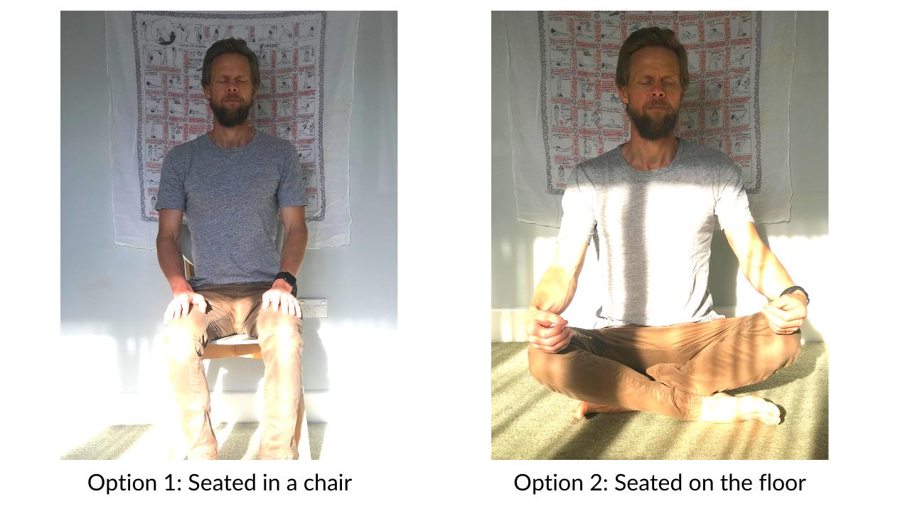 Mindfulness meditation instructions