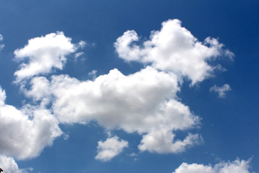 Clouds - mindfulness exercise