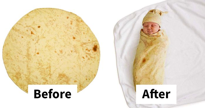 How to swaddle a baby like a burrito